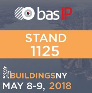 BAS-IP at the Buildings NY 2018 expo