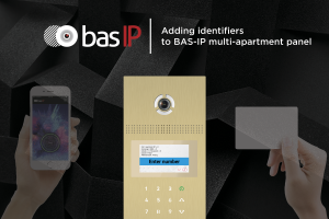 How to add identifiers to BAS-IP multi-apartment panel