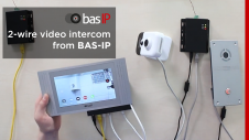 2-wire video intercom from BAS-IP