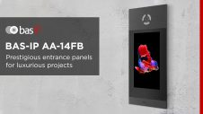 Entrance panel BAS-IP AA-14FB – modern appearance with the set of unique functions