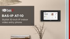 BAS-IP AT-10 – new IP indoor video entry phone Wide. Stylish. Convenient